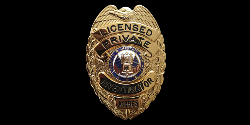 Badges are Legal – Texas Private Investigator